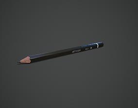 3D model VR / AR ready Pencil
