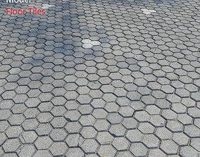street 3D model Floor Tiles