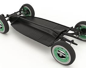 3D model Volkswagen Beetle Chassis