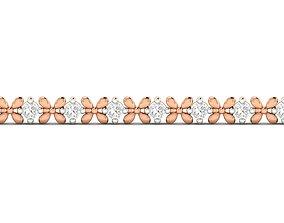 Women bracelet 3dm stl render detail engagement