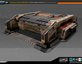 3D model RTS Hangar - 08