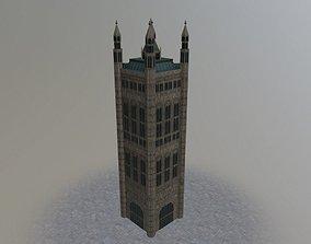 3D model London Victoria Tower