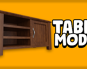 3D Table or Old Tv Unit Model