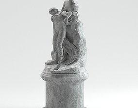 Joseph Chinard Venus Aeneas Achilles ancient 3D