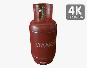 Gas Bottle 12L 3D asset