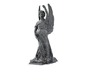 Funeral Sculpture Monument Angel 3D model