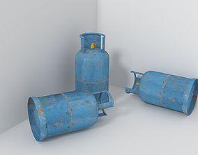 3D Lpg Gas Tank