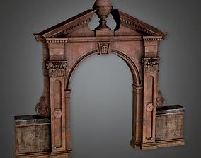 3D asset Cemetery Gate 3 CEM - PBR Game Ready