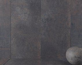 Stone Wall Tiles Etna Anthracite 120x270 3D model