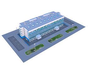 store Industrial building 3D