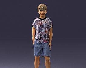 Boy in pose 0243 3D model