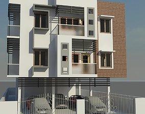 simple exterior 3D model