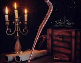 games Viktor Krum Wand- Harry Potter 3D print model