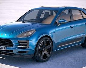Porsche Macan 2019 3D model