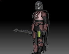 3D print model Star Wars THE MANDALORIAN action figure 1