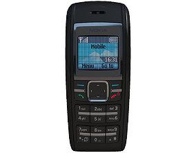 3D telephone Nokia 1600 Black