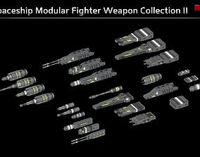 3D model Spaceship Enkar Republic Modular Fighter