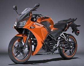 Honda CBR 300 R 2016 3D