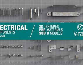 Electrical components vol9 3D asset
