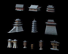 VR / AR ready Ancient Chinese Architecture 3D model