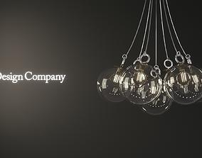 Pendant Lamp - Balloon Light 3D model