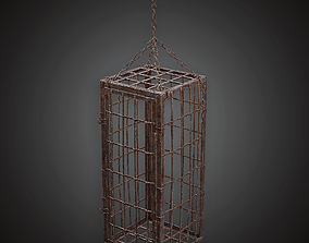 Dungeon Hanging Cage - MVL - PBR Game Ready 3D asset