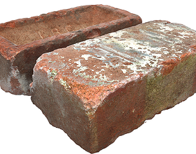 Ultra realistic Old Brick Scan 8k 3D asset VR / AR ready