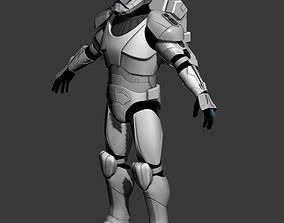 Republic Commando Cosplay 3D Print Model