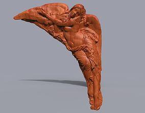 cnc 3D print model angel