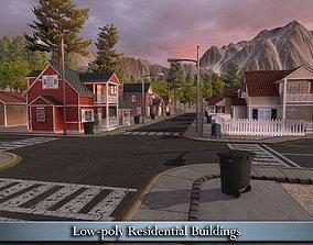 3D model VR / AR ready Residential Houses