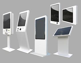 3D model KIOSK SELF-SERVICE TERMINAL