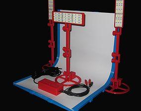 3D printable model SET - Infinite Seamless White 5