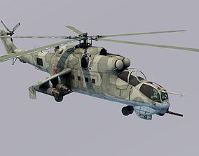 Russian Mil Mi-24 3D model