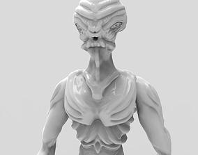 3D print model Gryealden The Alien of a Distant Planet