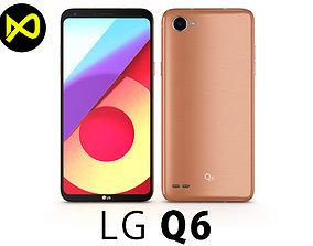 LG Q6 Terra Gold 3D