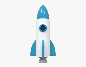 Space Rocket 5 3D model