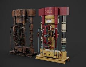equipment 3D PBR Machinery device