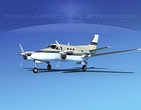 3D Beechcraft King Air 100 V03