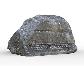 Phaselis Ancient Stone 2 3D asset game-ready
