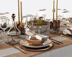 3D model Table setting 05