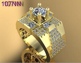 3D print model ring diamond temix