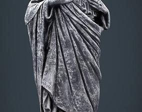 3D model Stone Sacred Heart of Jesus