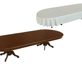 Wood table 3500 3D