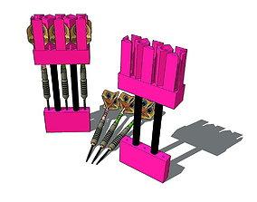Universal Dart Holder 3D print model