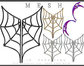 Spiderweb 02 - Curved 3D asset