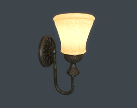 Wall Lamp v1 3D asset