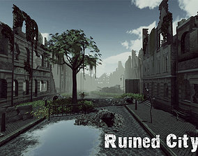 Ruined City Update 3D asset realtime