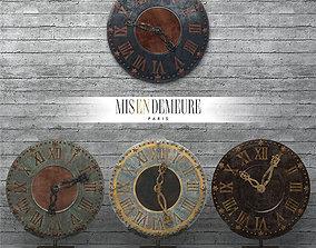 Clock Misendemeure Village 3D