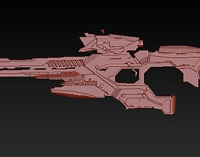 sniper rifle of the future 3D print model