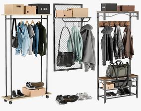 3D model PBR Wardrobe Collection 4
